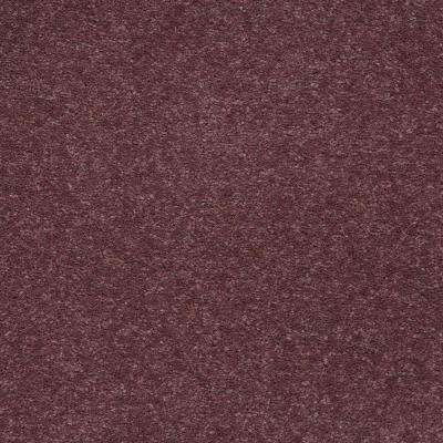 Carpet Sample - Enraptured II - Color Thistle Texture 8 in. x 8 in.