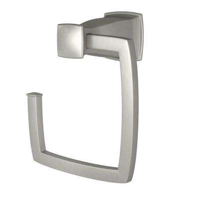 Hensley Towel Ring in Spot Resist Brushed Nickel