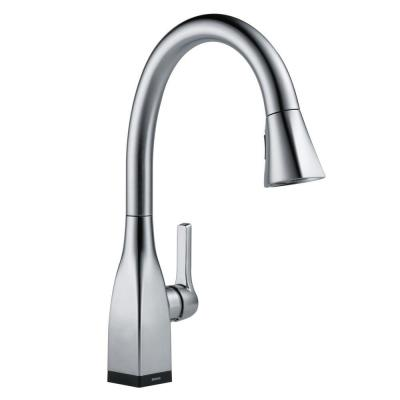 Mateo Single-Handle Pull-Down Sprayer Kitchen Faucet with Touch2O and ShieldSpray Technology in Arctic Stainless