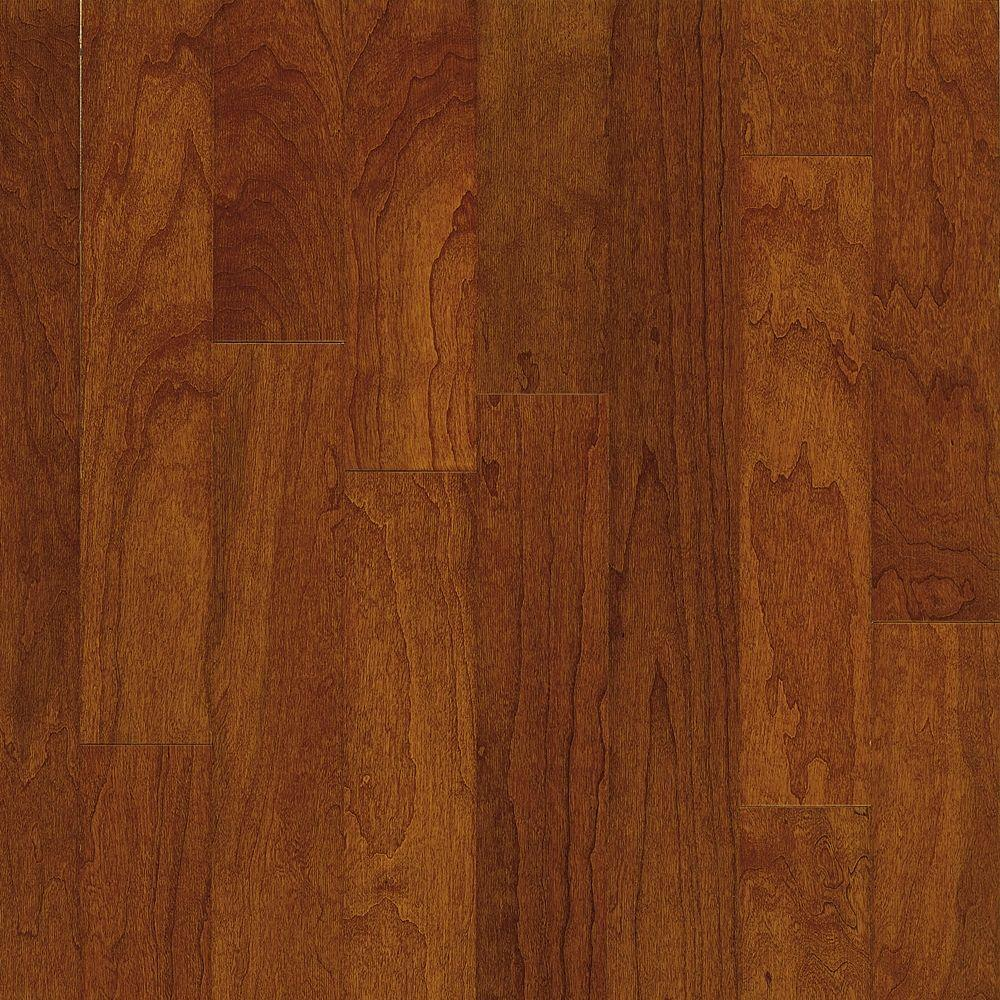 Bruce Town Hall Cherry Bronze Engineered Hardwood Flooring - 5 in. x 7 in. Take Home Sample
