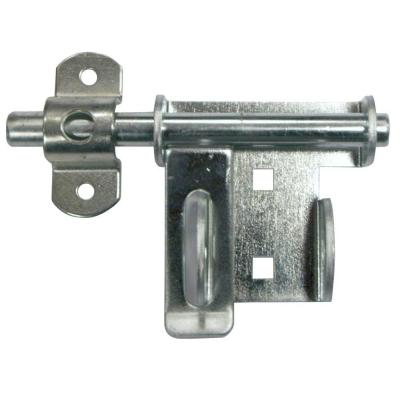 Q4-2P Heavy-Duty Garage Door Security Slide-Bolt Lock