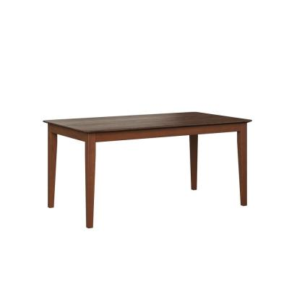 Anya Walnut Rectangular Smart Top Dining Table