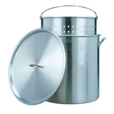 42 qt. Aluminum Pot with Strainer Basket