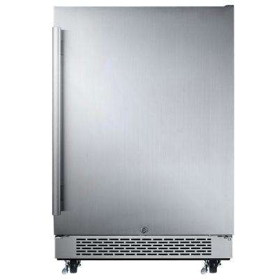 5.5 cu. ft. Built-in Outdoor Refrigerator in Stainless Steel