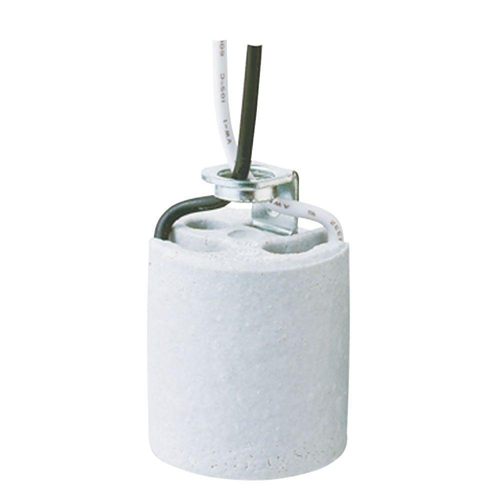 Porcelain Ceiling Fan Fixture Socket