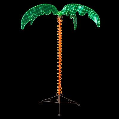 4.5 ft. Holographic LED Lighted Palm Tree
