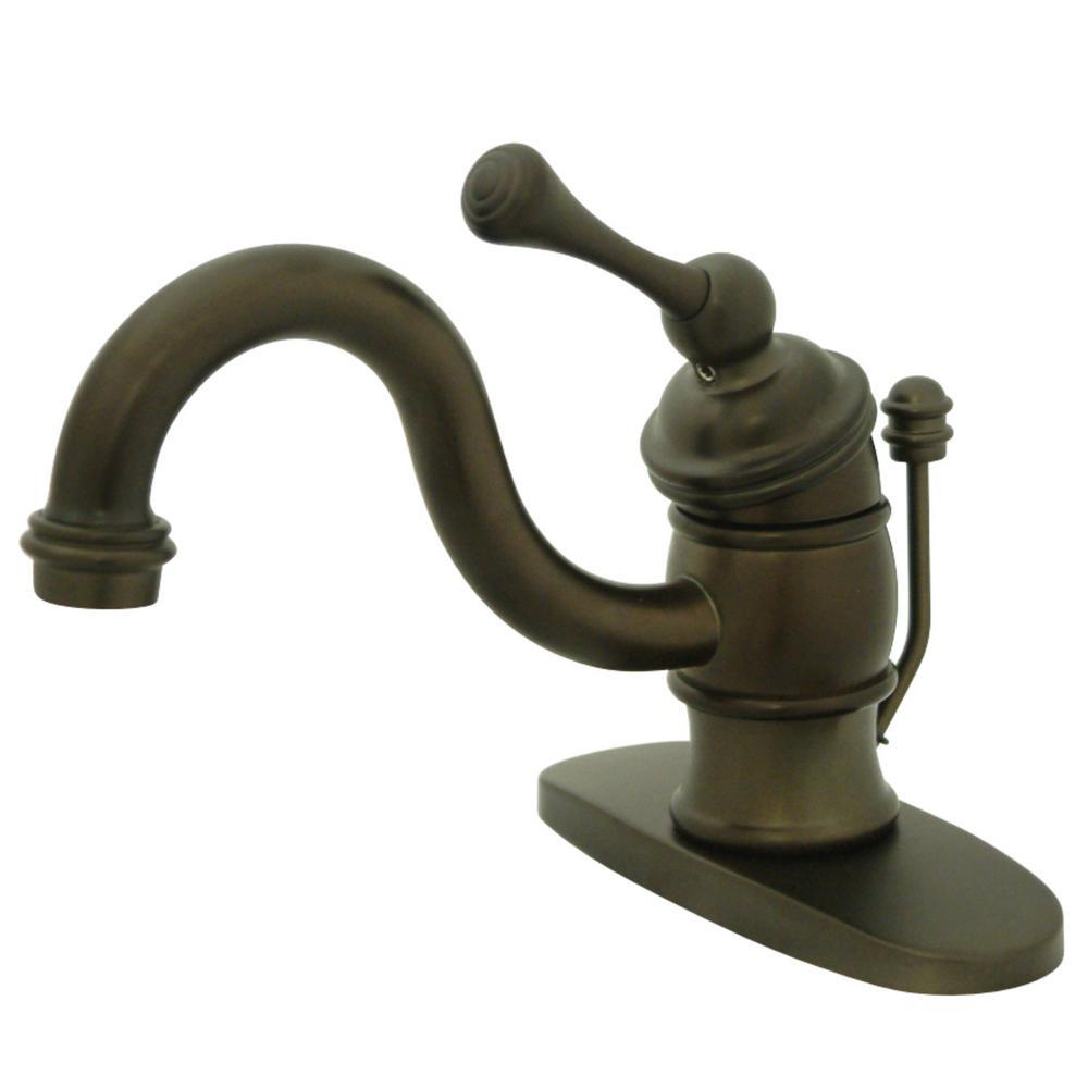 Kingston Brass Victorian Single Hole Single-Handle Bathroom Faucet in Oil Rubbed Bronze