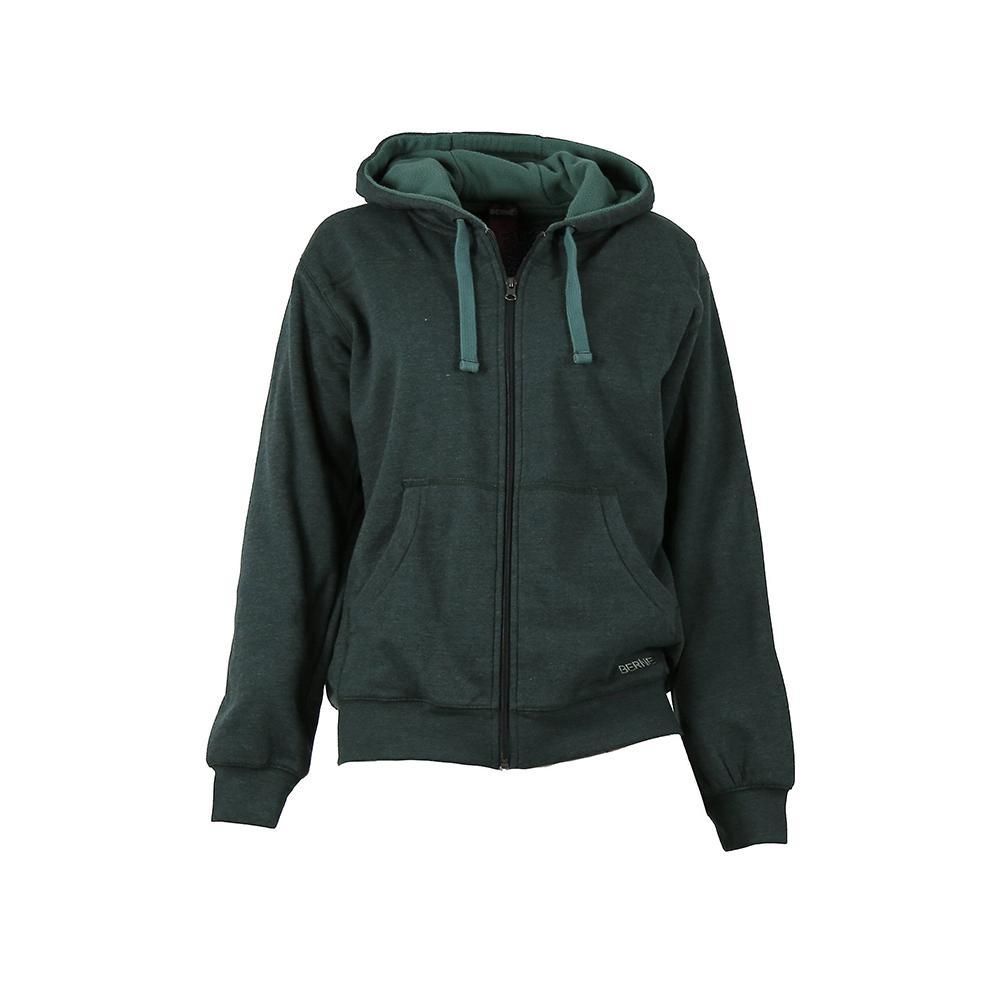 Women s 4 XL Jade Heather Cotton and Polyester Fleece Lined Sweatshirt 99df5d7f38