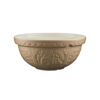 In The Forest S24 Bear 9.5 in. Mixing Bowl
