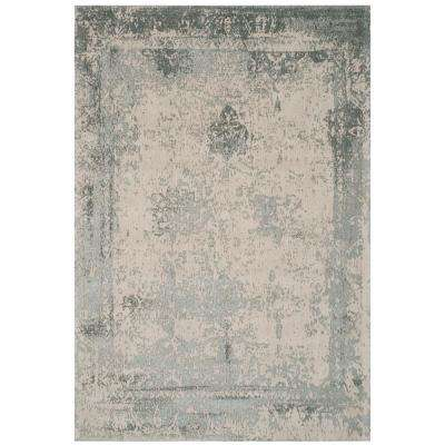 Classic Vintage Gray 7 ft. x 9 ft. Area Rug