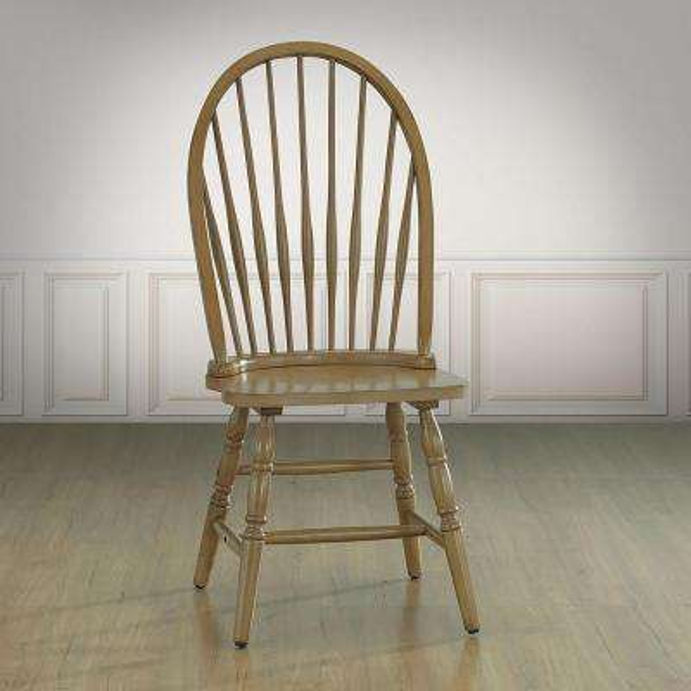 Harvest Oak Wood Windsor Dining Chair