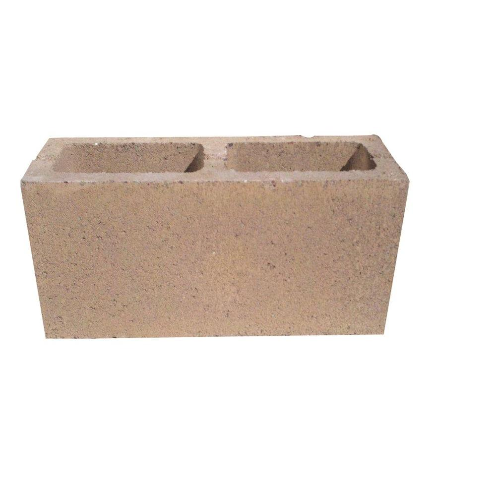 Sandia Sands M.W. 16 in. x 6 in. x 8 in. Concrete Block