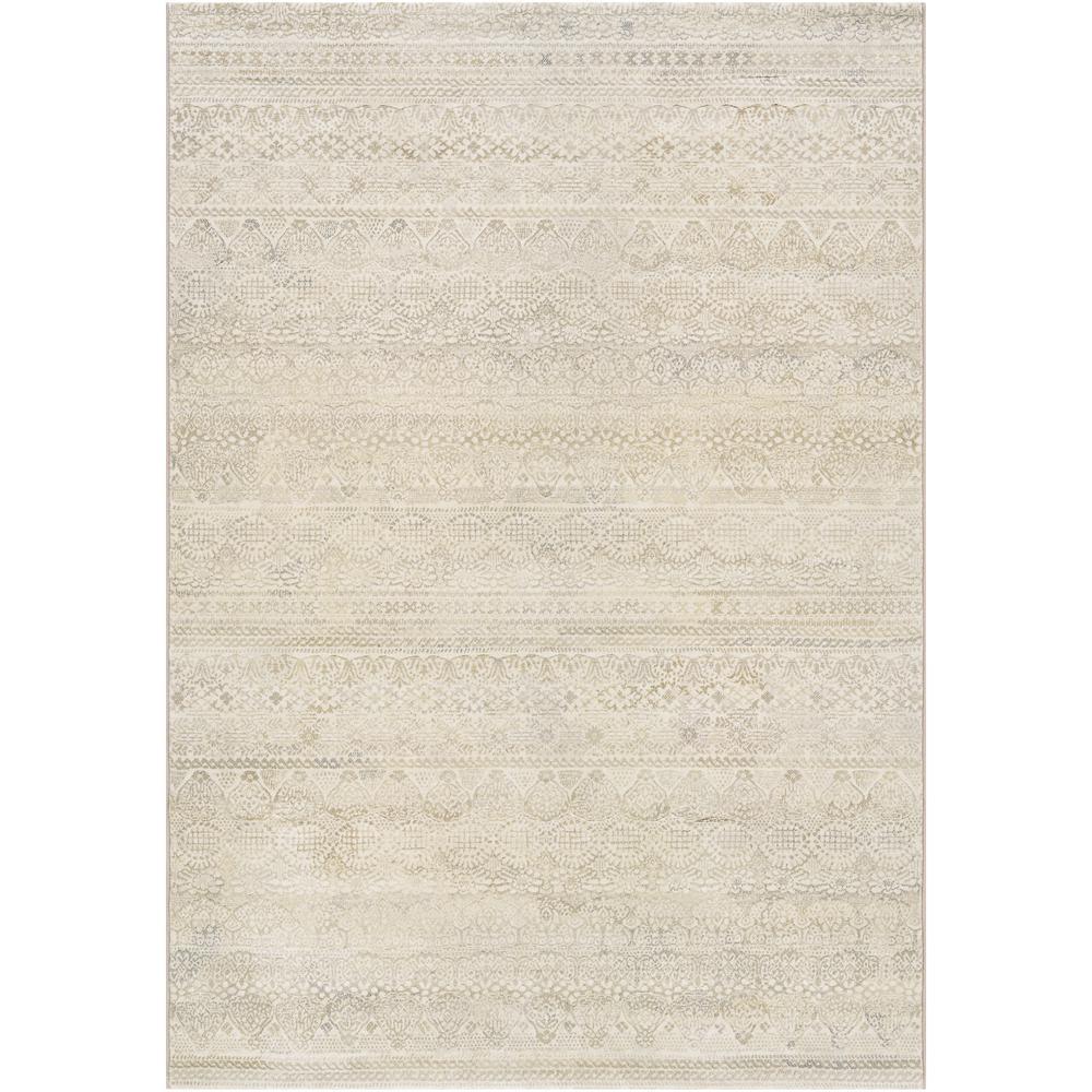 Easton Capella Ivory-Light Grey 8 ft. x 11 ft. Area Rug
