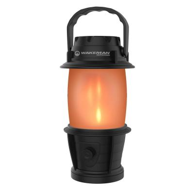 Torch Flame Effect LED Camping Lantern