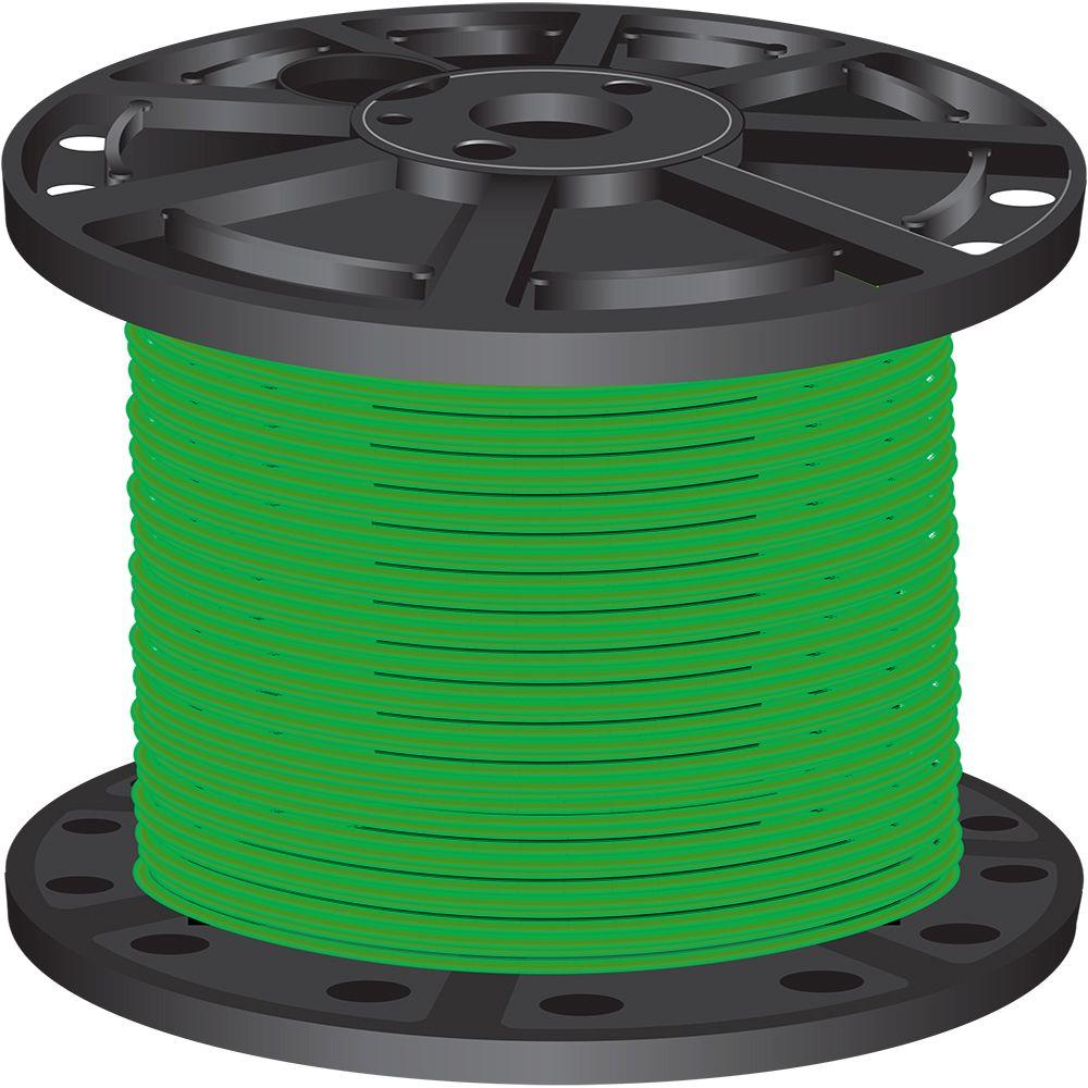 10 Gauge Solid Copper Wire Home Depot About Wiring Diagram 100 Ft 12 2 Yellow Simpull Nmb Wire28828228 The Southwire 500 Green Stranded Cu Xhhw 37116103