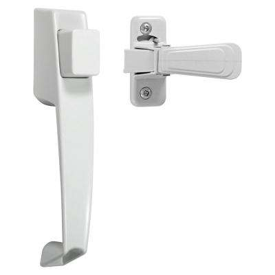 VP Push Button Handle Set in White