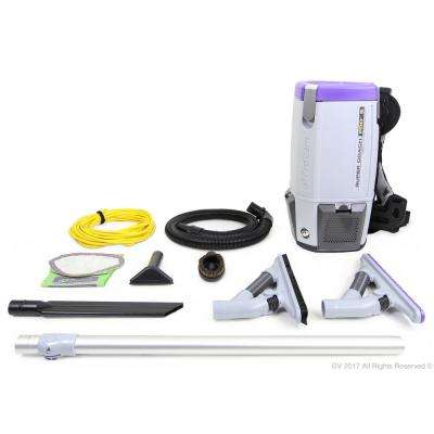 Super Coach Pro 6 Qt. Backpack Vacuum Cleaner with Problade Tool Kit