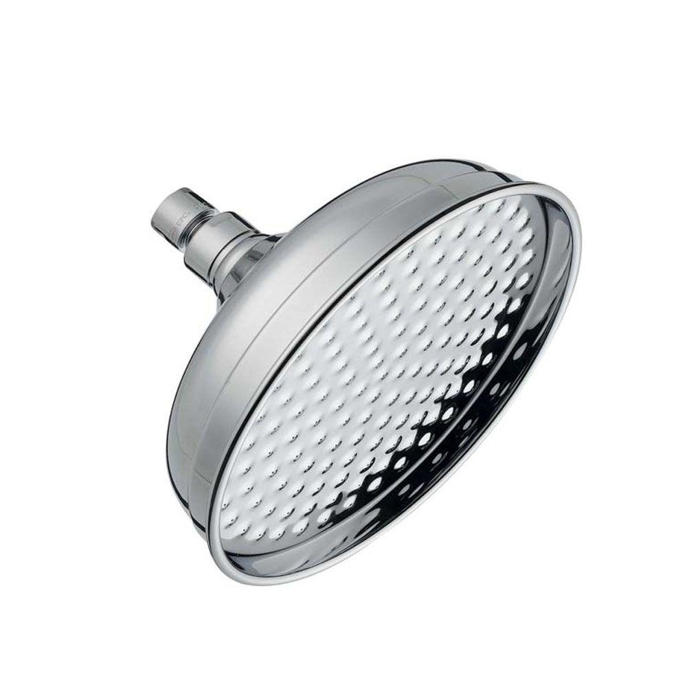 Pegasus 8 in. Can Style Showerhead in Brushed Nickel-DISCONTINUED