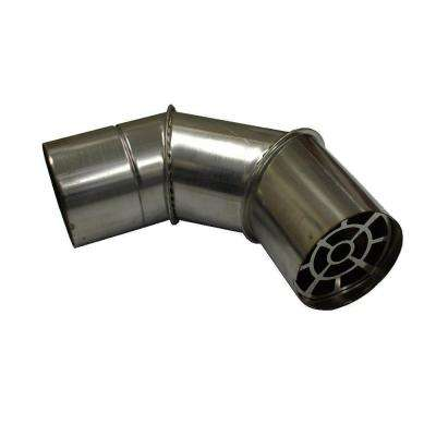 3 in. x 90-Degree Z-Vent Elbow Termination