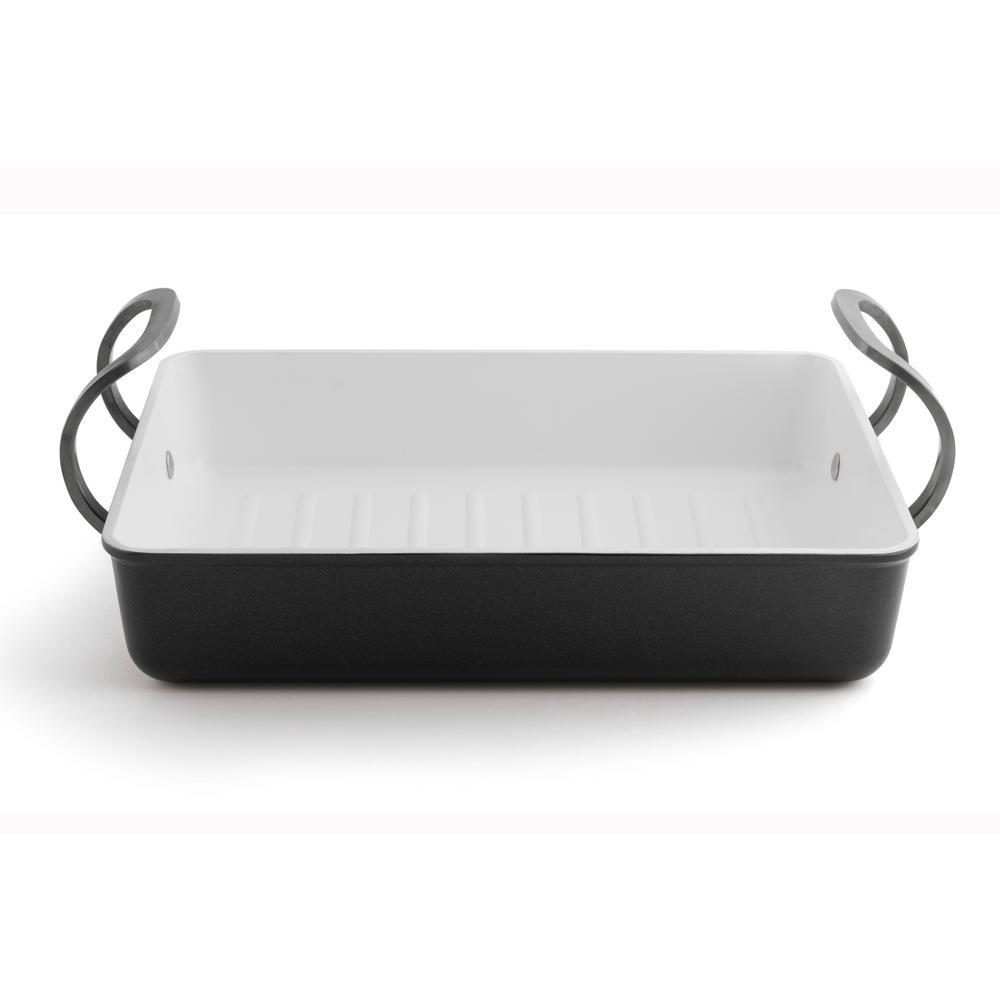 BergHOFF Eclipse 5.3 Qt. Aluminum Non-Stick Roasting Pan 3700313