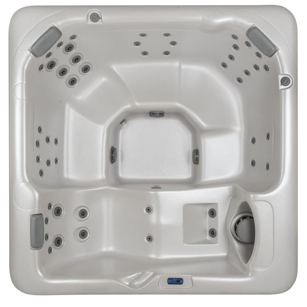Summit Hot Tubs Lassen 6-Person 50-Hydrotherapy Jet Spa with Lounger
