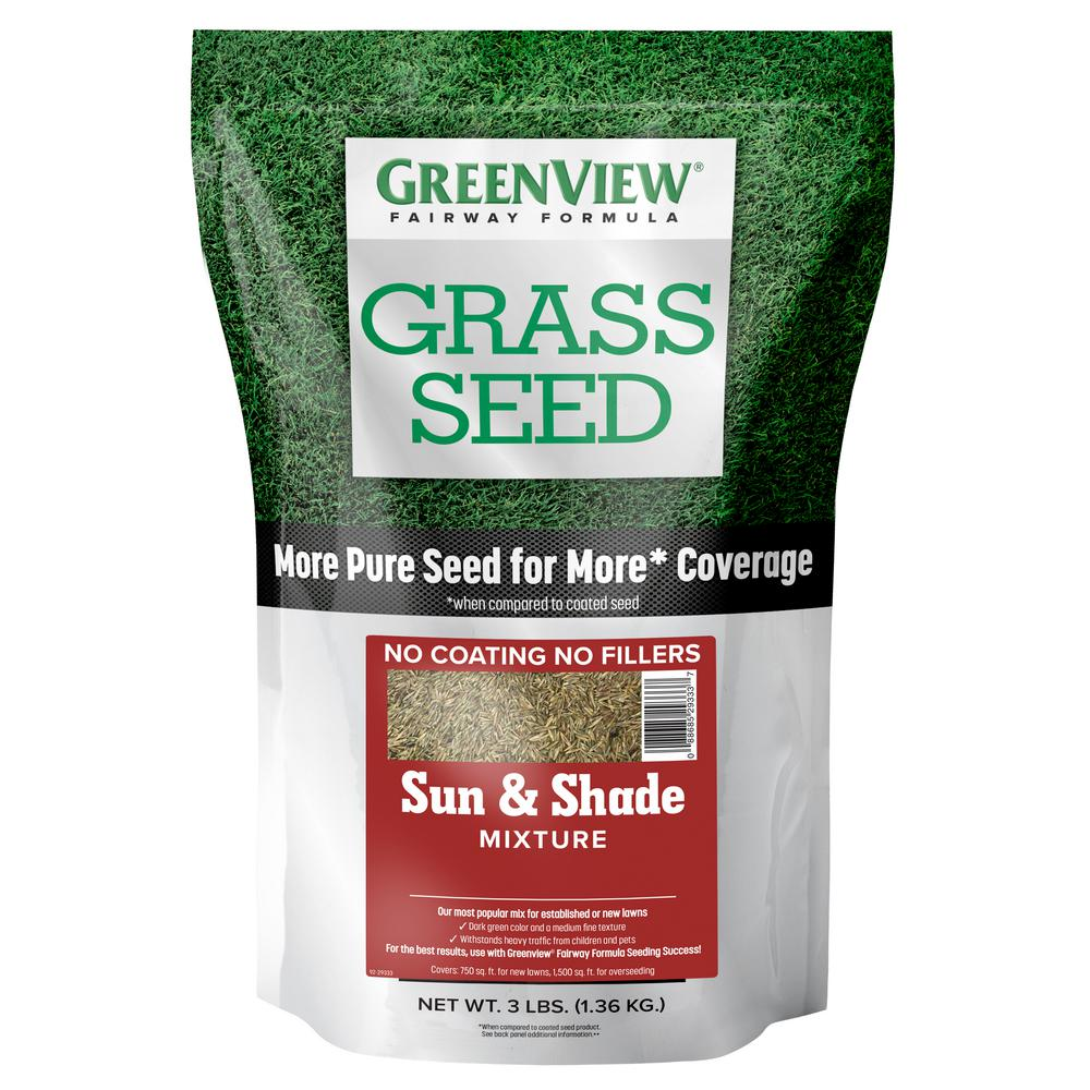 GreenView 7 lbs. Fairway Formula Grass Seed Sun and Shade Mixture