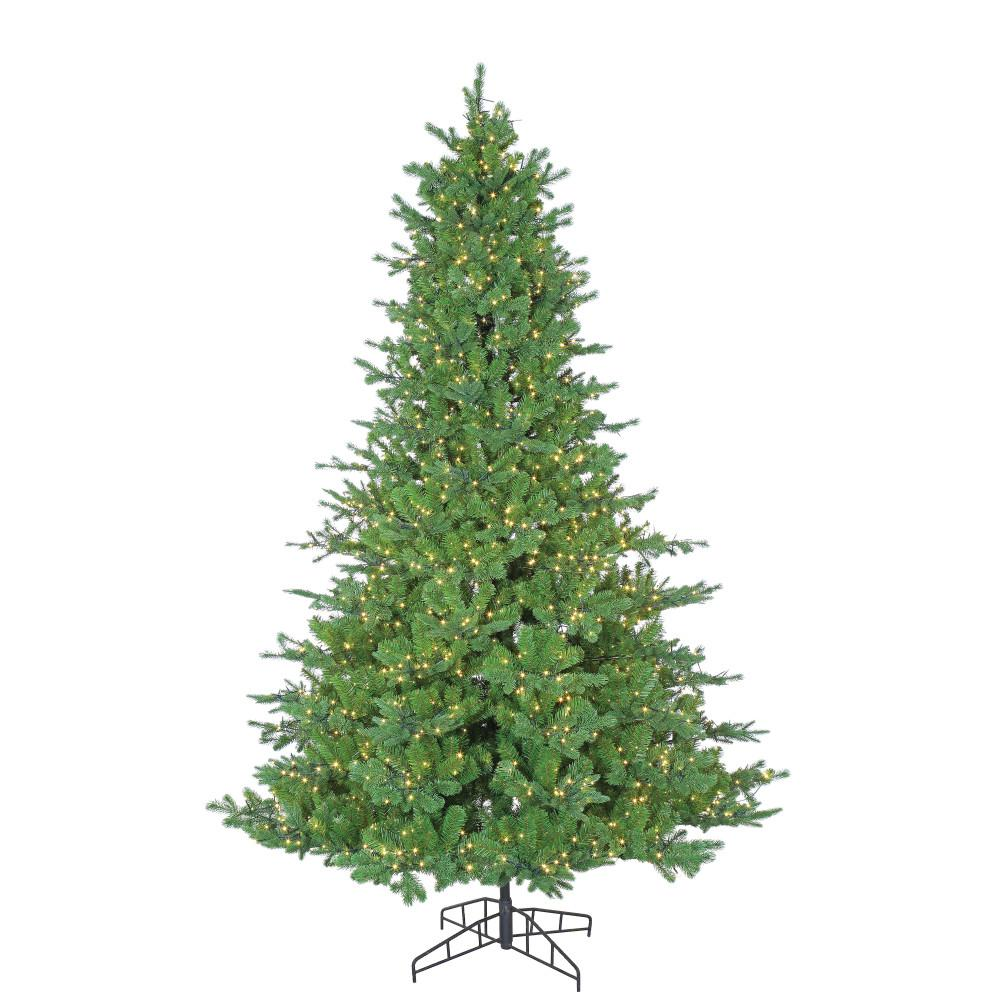 Sterling 7.5 ft. Pre-Lit Pacific Pine Artificial Christmas Tree with ...
