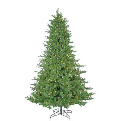 7.5 ft. Pre-Lit Pacific Pine Artificial Christmas Tree with Micro Lights