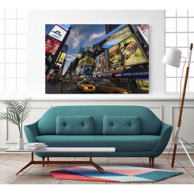 """48 in. x 72 in. """"Palace Theater Traffic"""" by Guilliame Gaudet Wall Art"""