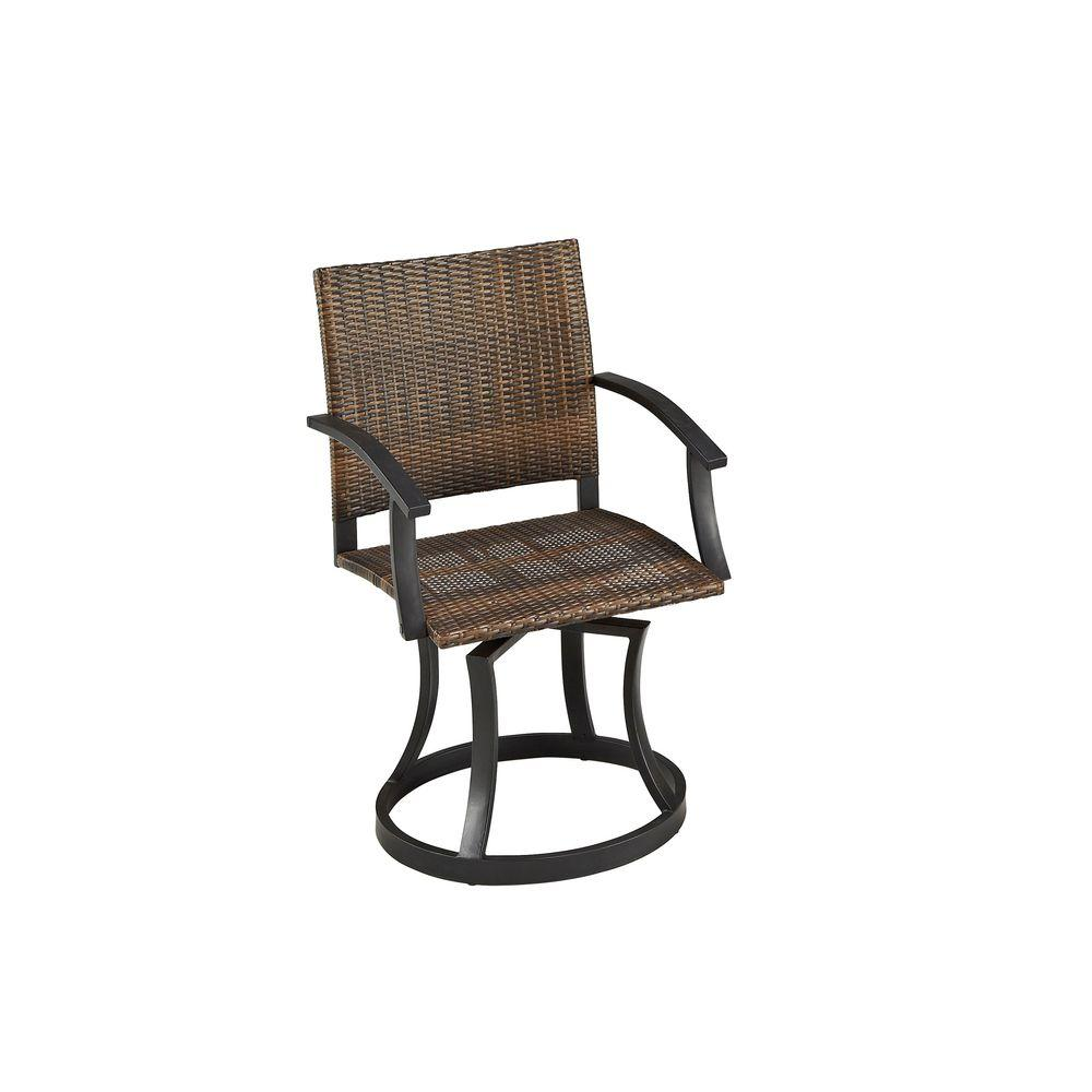Home Styles Newport Outdoor Swivel Patio Chair