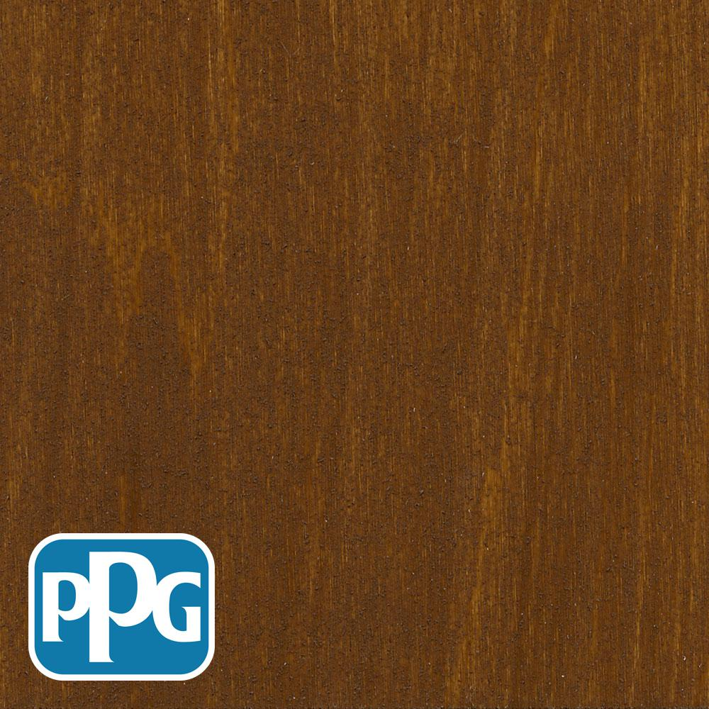 1 gal. TST-3 Chestnut Brown Semi-Transparent Penetrating Oil Exterior Wood Stain