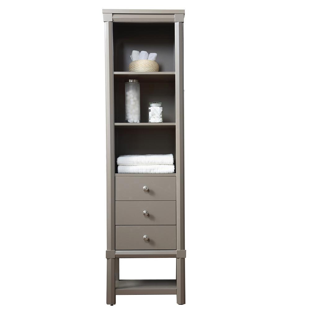 Medium Brown - Bathroom Cabinets & Storage - Bath - The Home Depot