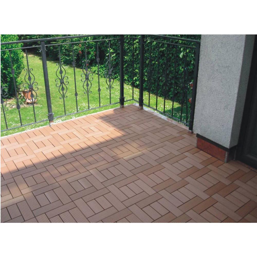Slat 1 Ft X Composite Deck Tile