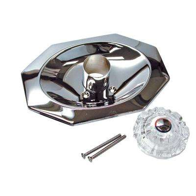 1-Handle Valve Trim Kit in Chrome (Valve Not Included)