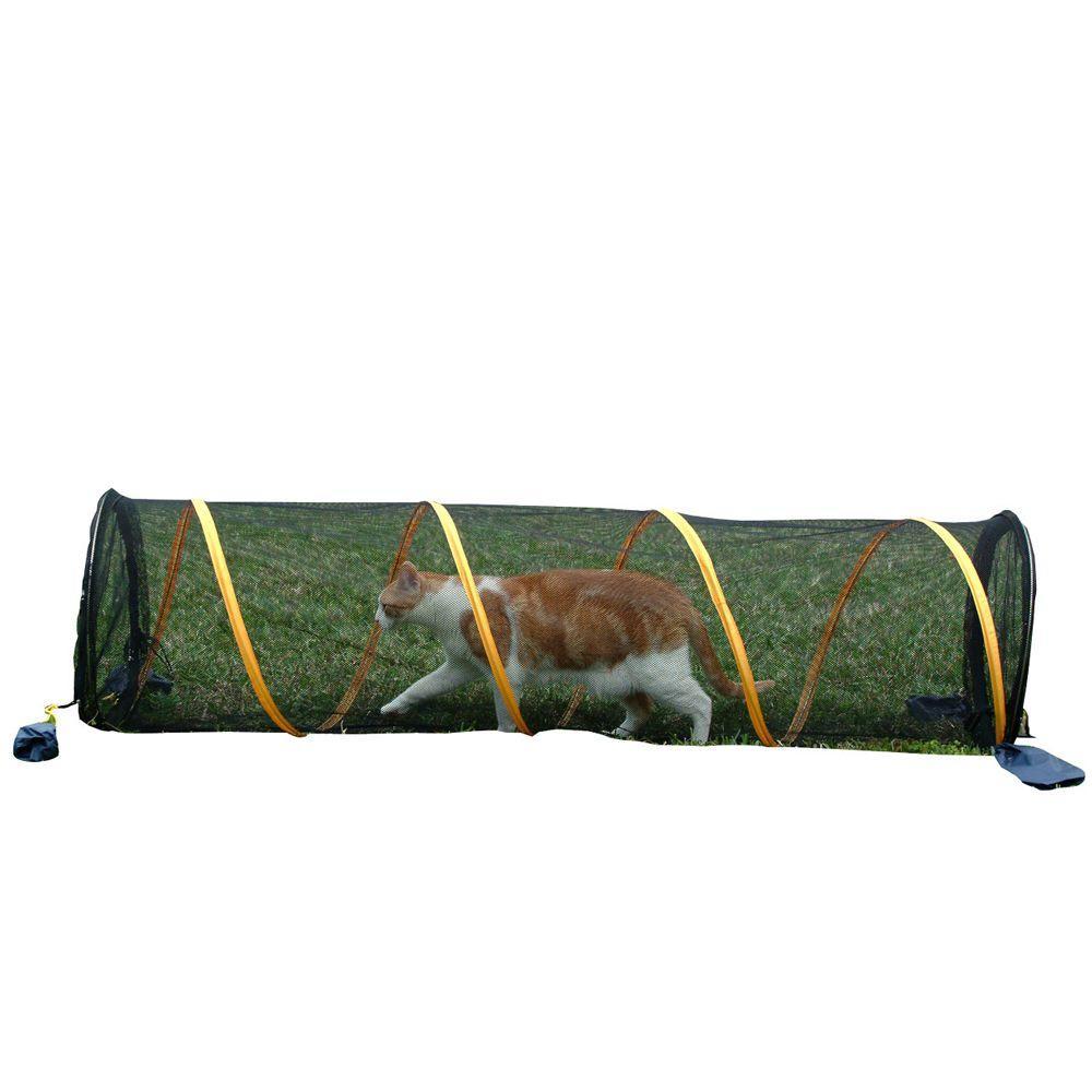 Outdoor Cat and Small Animal Enclosure Fun Run