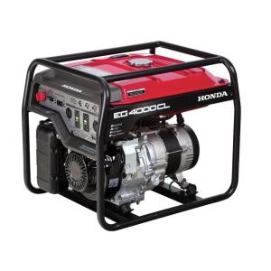 Honda 4000-Watt Gasoline Generator with GFCI Duplex Outlet Protection and GX270... by Honda