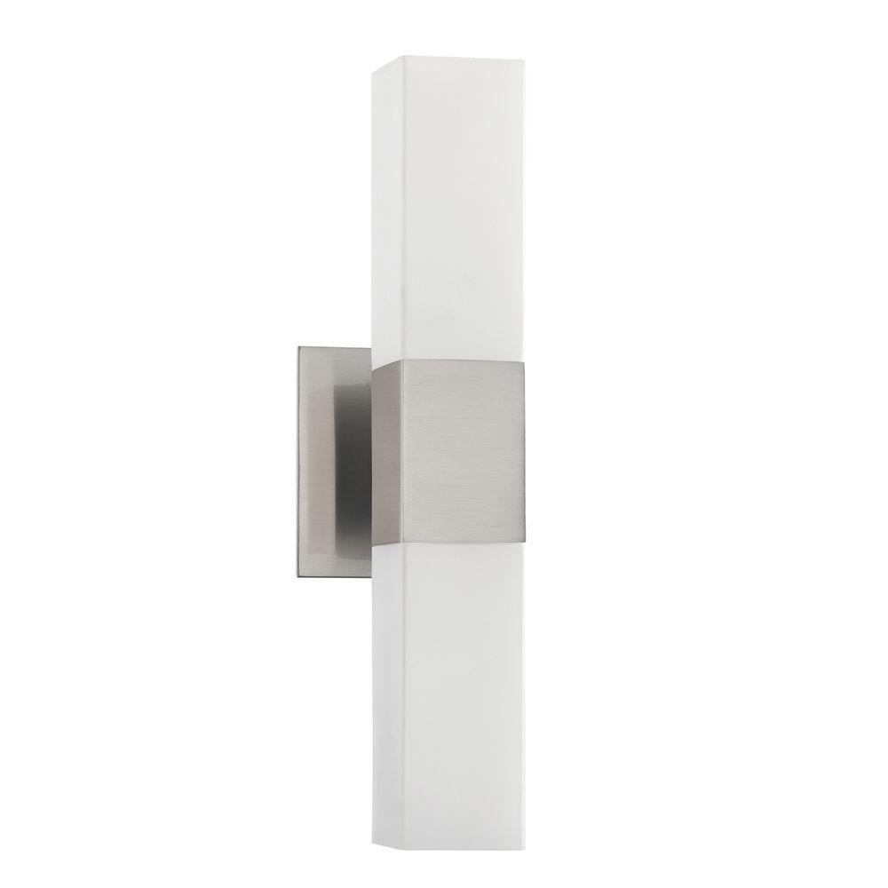 Designers Choice Collection Madison Series 2-Light Satin Nickel Bath Light