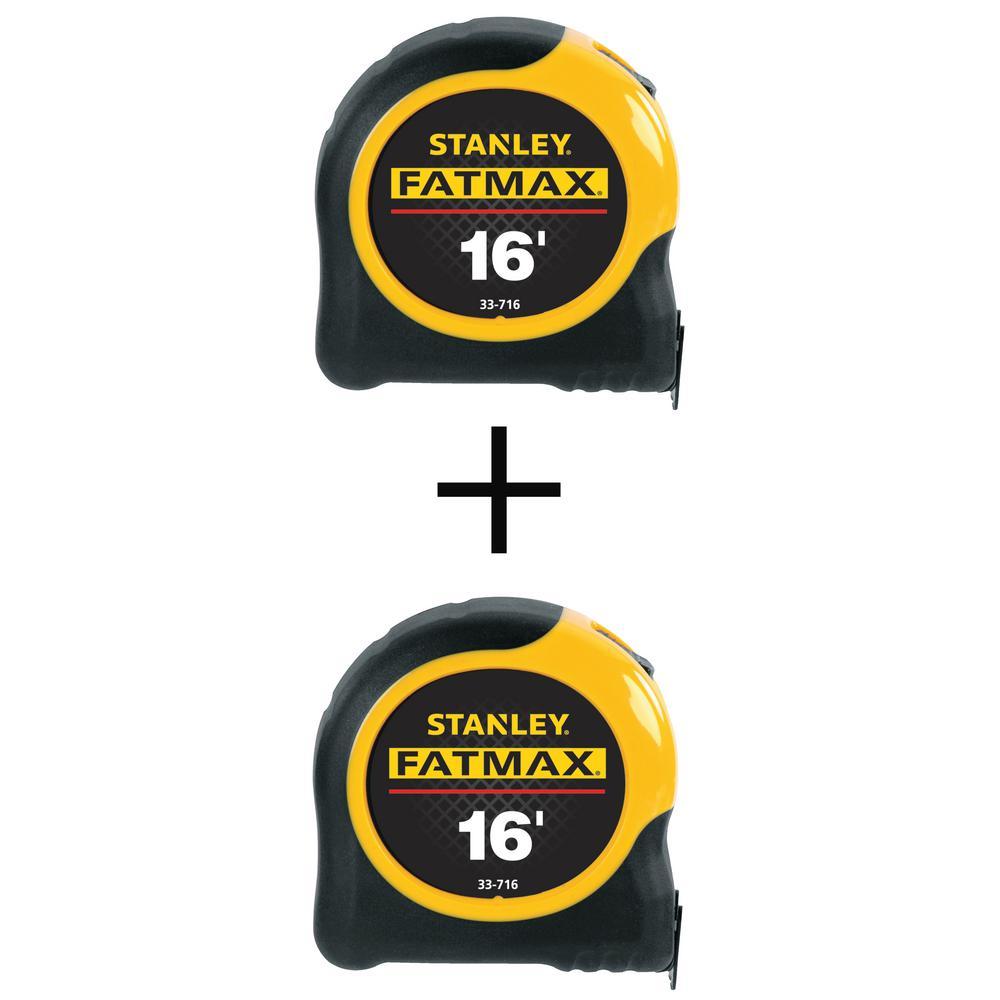 FATMAX 16 ft. x 1-1/4 in. Tape Measure with Bonus FATMAX 16 ft. x 1-1/4 in. Tape Measure
