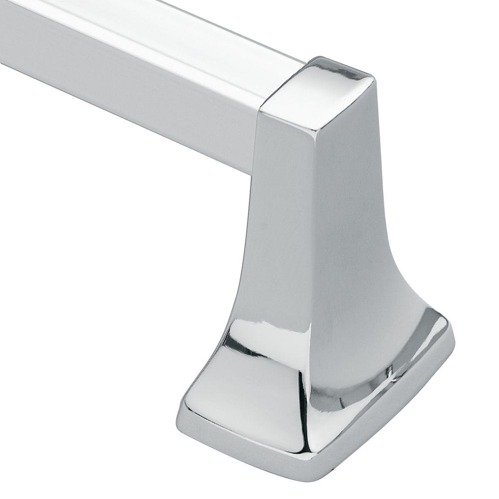 MOEN Contemporary 24 in. Towel Bar in Chrome