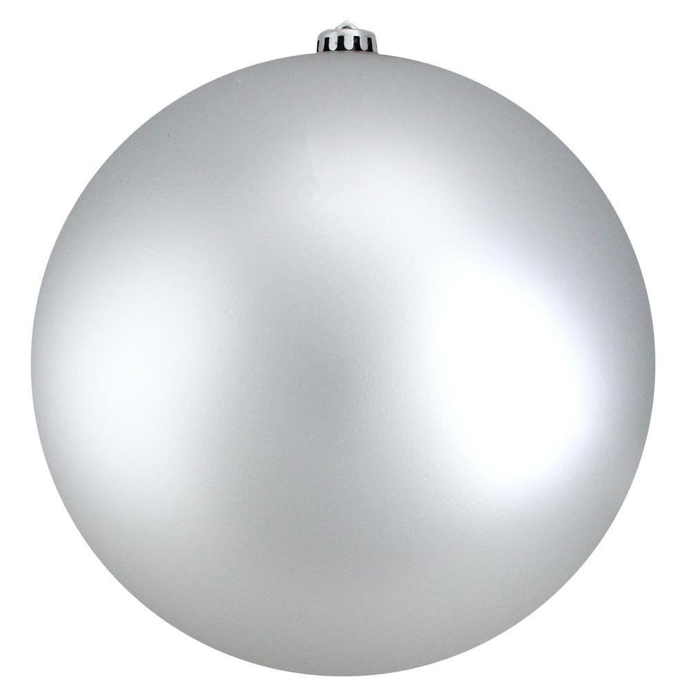 Northlight Matte Silver Splendor Commercial Shatterproof ...