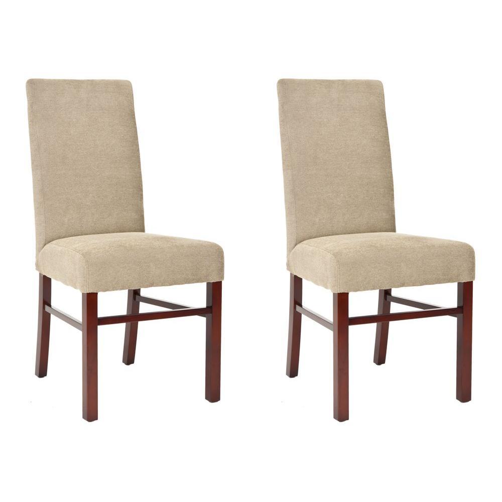safavieh sage dining chair set of 2 hud8205g set2 the home depot. Black Bedroom Furniture Sets. Home Design Ideas