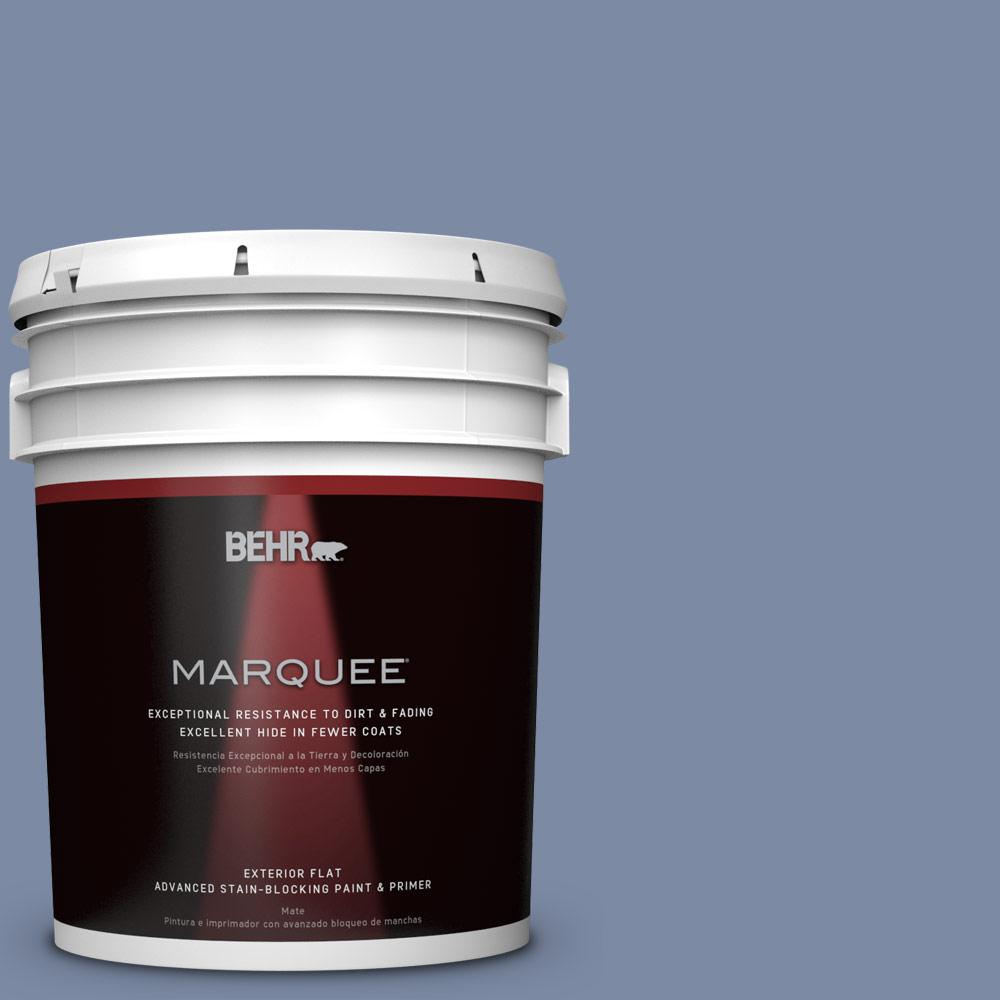 BEHR MARQUEE 5-gal. #PPU15-9 Hilo Bay Flat Exterior Paint