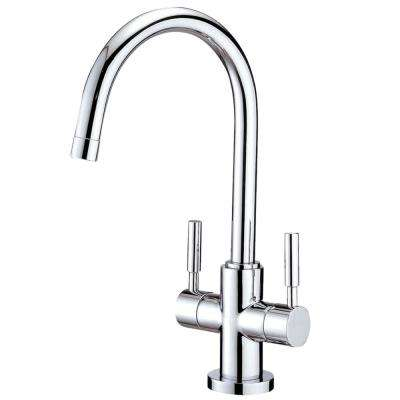 Concord Single Hole 2-Handle Bathroom Faucet in Chrome