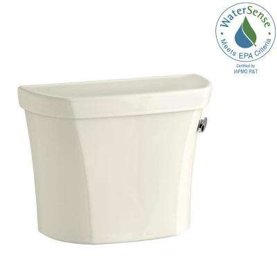 Wellworth 1.28 GPF Single Flush Toilet Tank Only in Biscuit