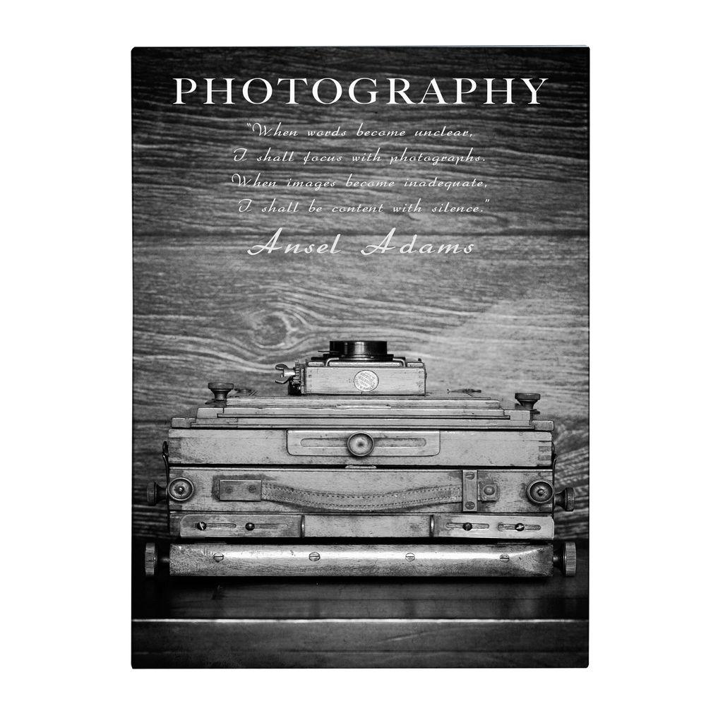 19 in. x 14 in. Photography B&W Canvas Art