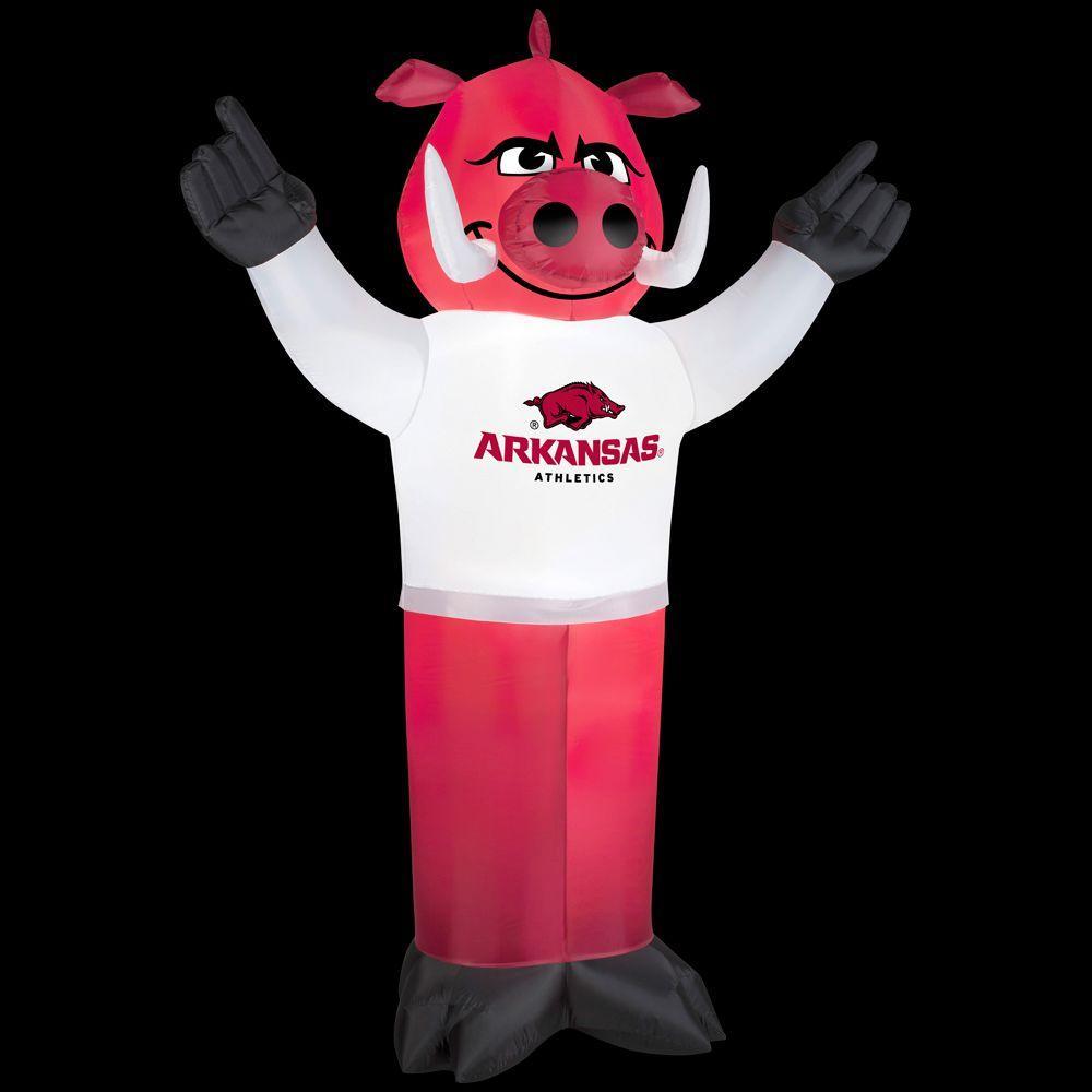 83.85 in. Inflatable Razorbacks Mascot