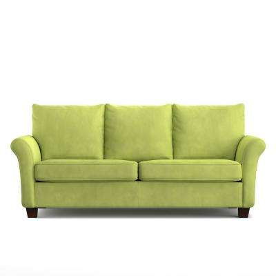 Rockford SoFast Sofa in Spring Green Velvet