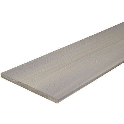 ArmorGuard 3/4 in. x 11-1/4 in. x 12 ft. Seaside Gray Capped Composite Fascia Decking Board (10-Pack)