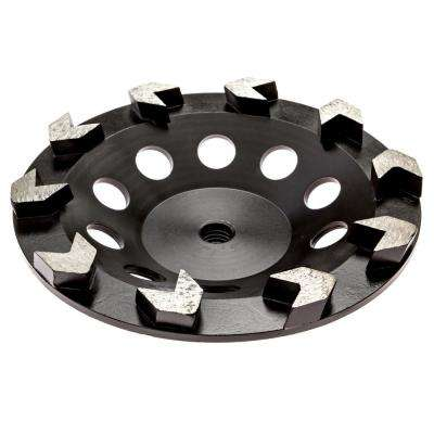 7 in. Arrow Diamond Grinding Cup Wheel
