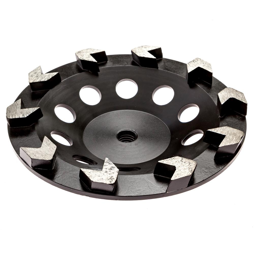 Thinset Removal Bit 7 In Arrow Diamond Grinding Cup Wheel